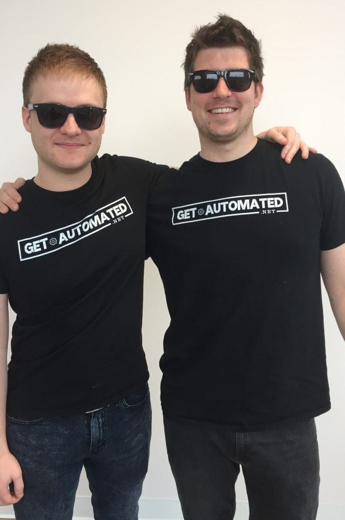 get automated t-shirts