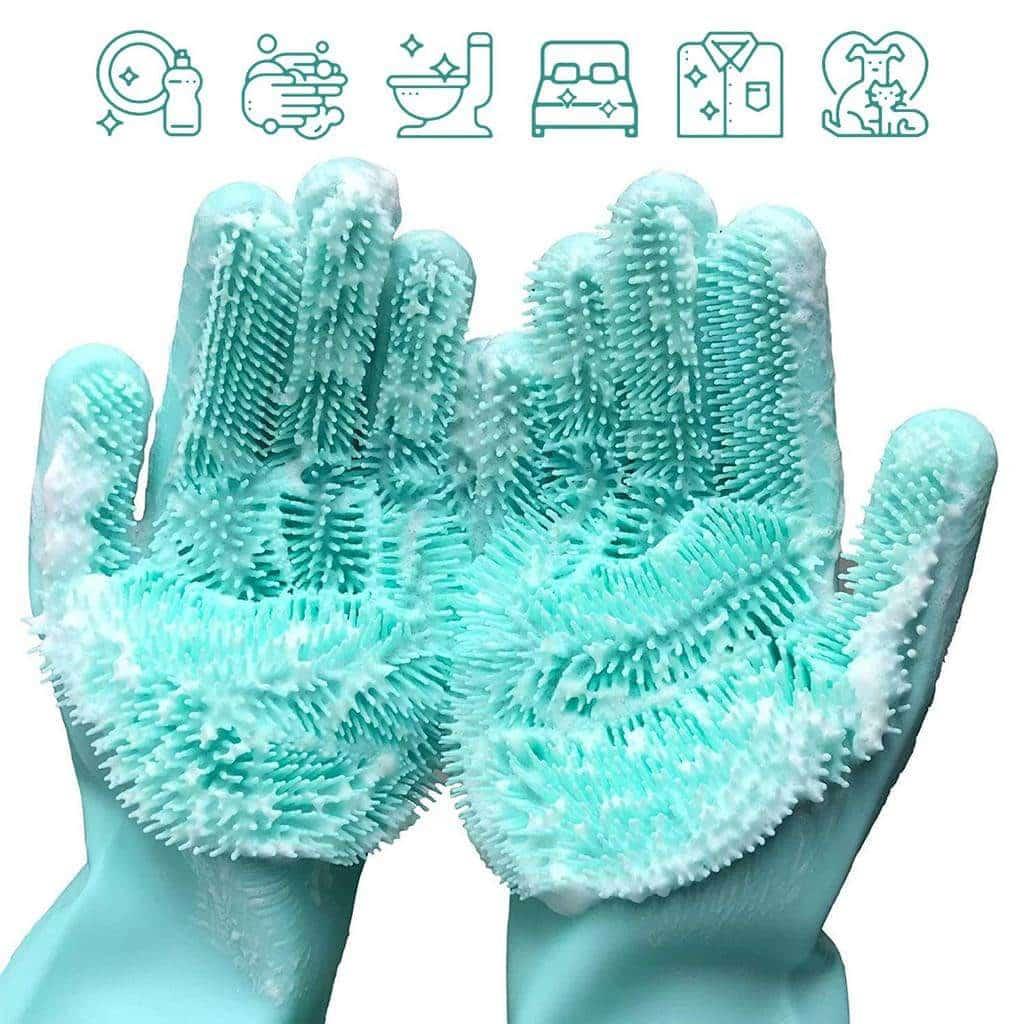 dish glove scrubbers
