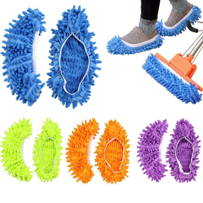 foot mop slippers