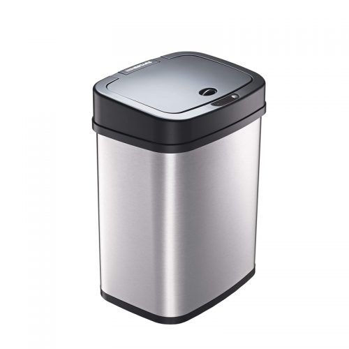 automatic motion sensor trash can