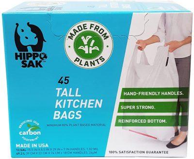 Plant Based Trash Bags