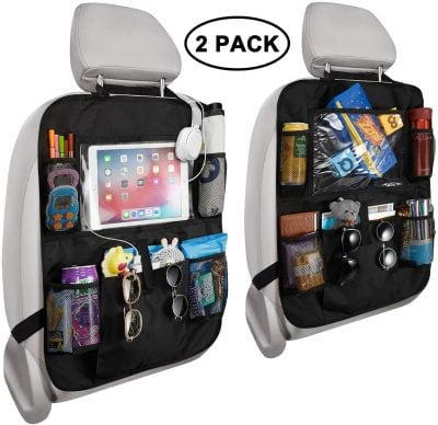 car seat organizer with pockets