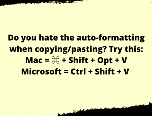 Copy & Paste Life Hack