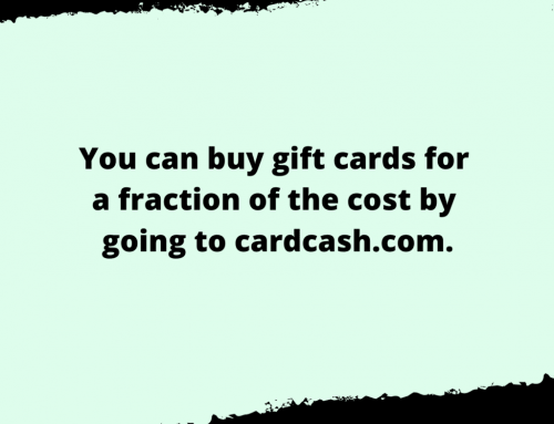 Gift Card Life Hack