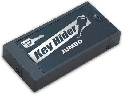 magnetic key lock box spare key storage for car