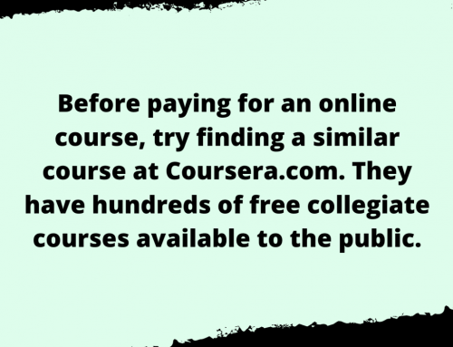 Free Online Course Life Hack