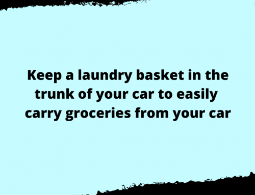 Carrying Groceries Life Hack