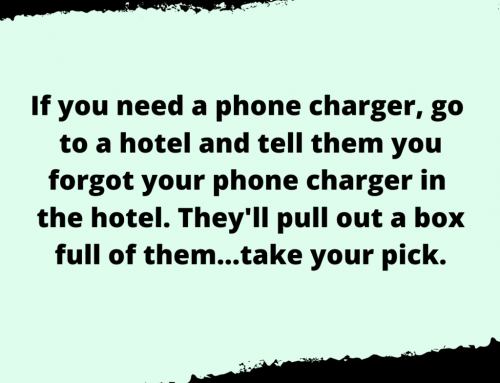 Phone Charger Life Hack