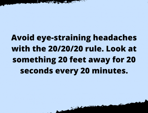 Eye Straining Headache Life Hack