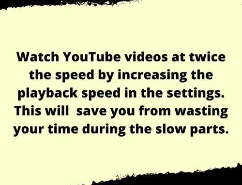 YouTube Life Hack