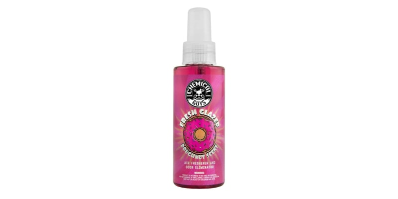 chemical guys fresh glazed donut air freshener odor