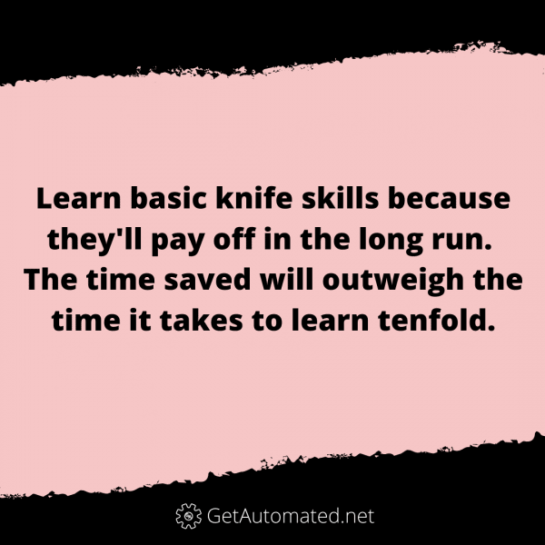 knife skills life hack