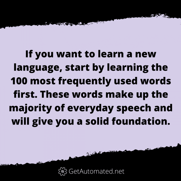 learning another language life hack