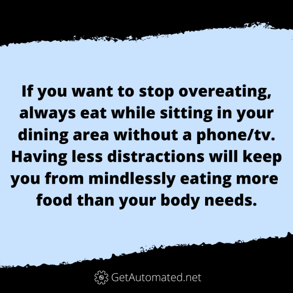 stop overeating life hack dining