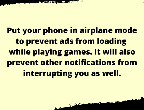 Phone Games Life Hack