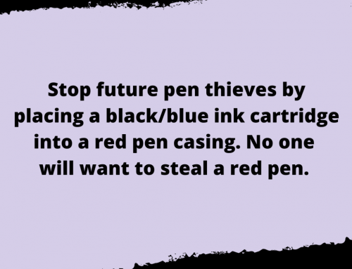 Pen Theft Life Hack