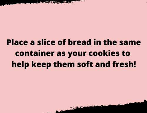 Storing Cookies Life Hack