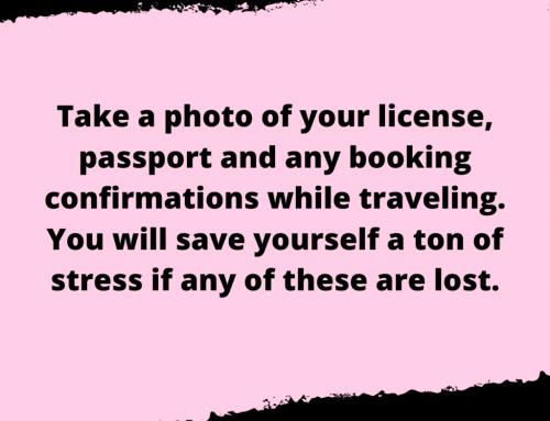 Travel Documents Life Hack