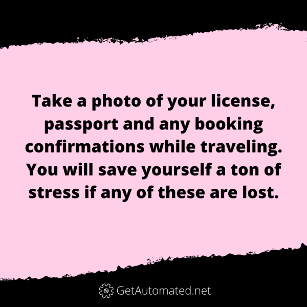 travel passport photo life hack
