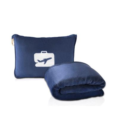 2-in-1 pillow blanket