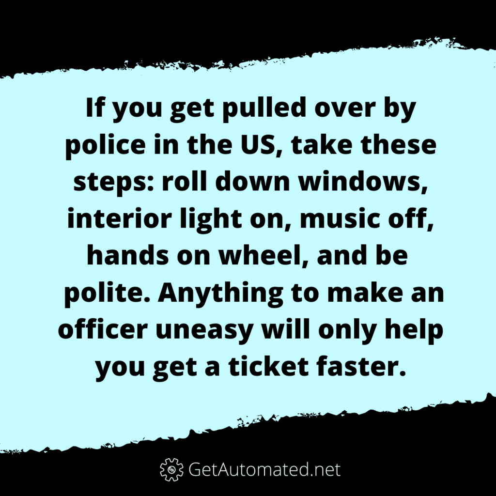 avoid speeding ticket life hack