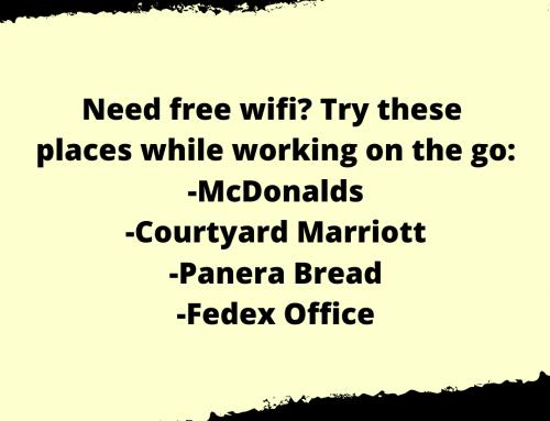 Free Wifi Life Hack