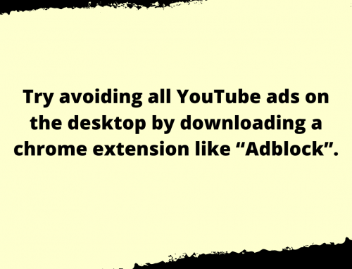 YouTube Ads Life Hack