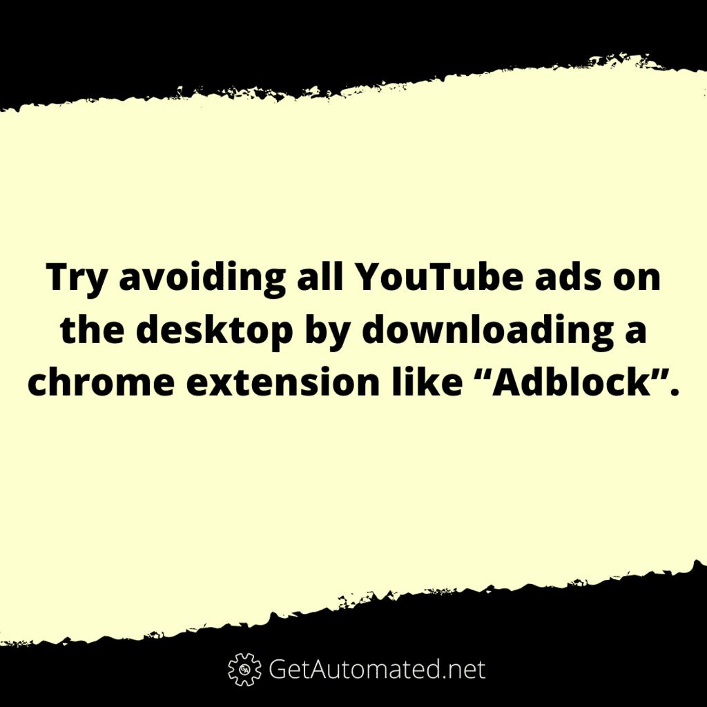 Block YouTube Ads Life Hack