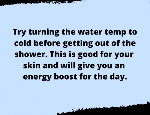 Cold Shower Life Hack