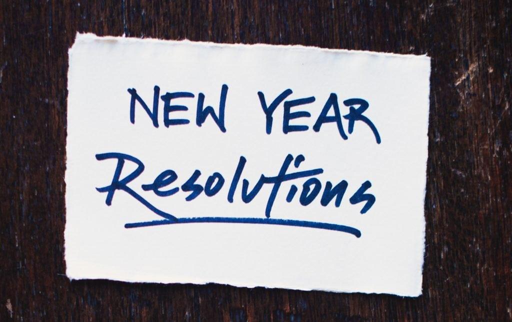 new years resolution: purge closet