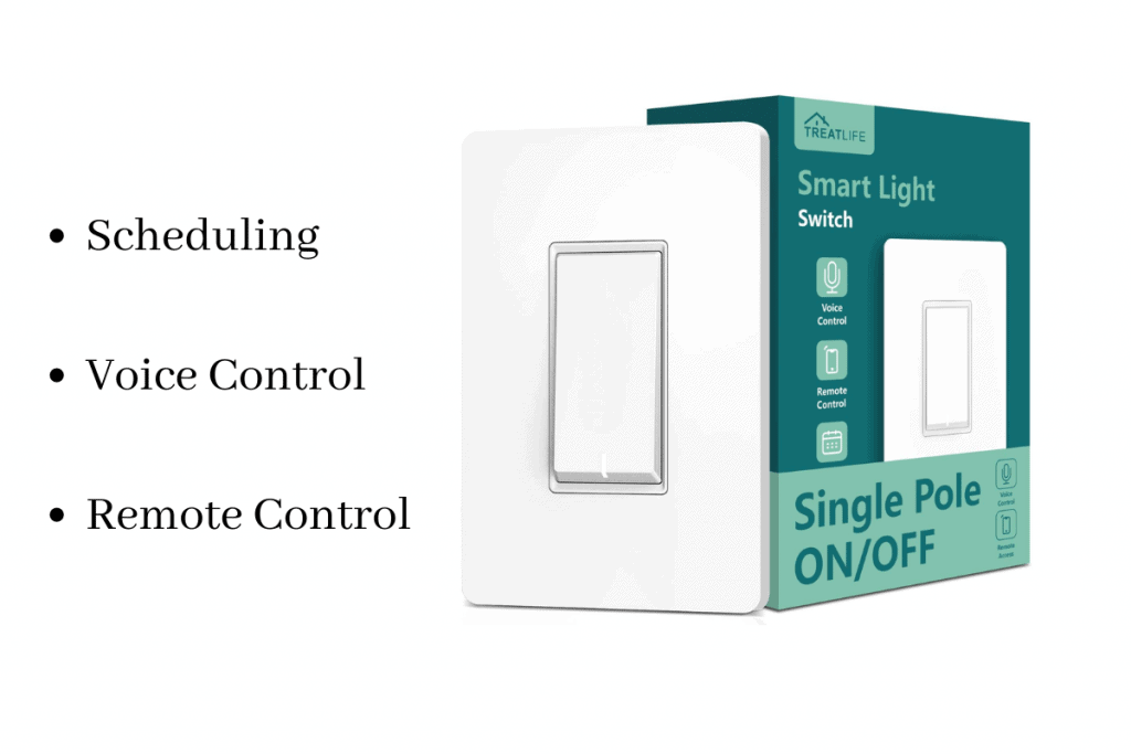 treatlife smart light switch for home automation