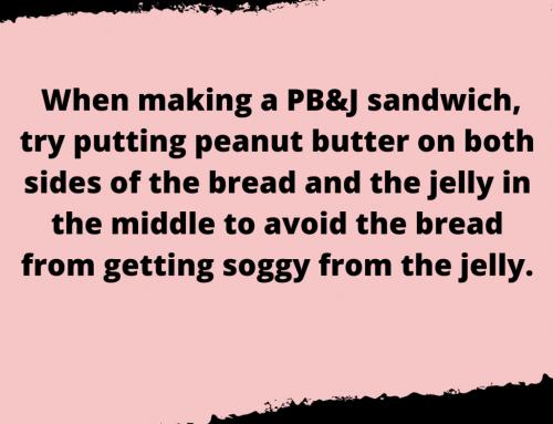 PB&J Sandwich Life Hack